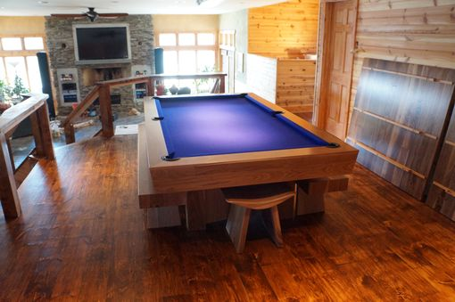 Custom Made Dining Pool Table Combination Set