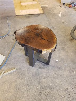 Custom Made Live Edge End Tables