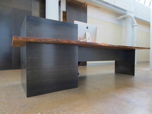 Hand Made Metal Modern Industrial Plate Steel