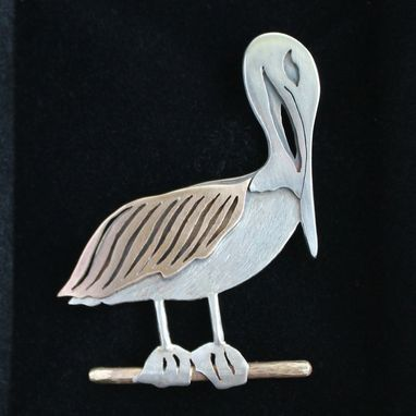 Custom Made Pelican Pin