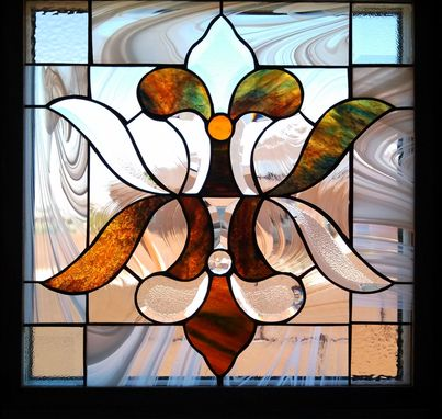 Custom Made Stained Glass Window Panel