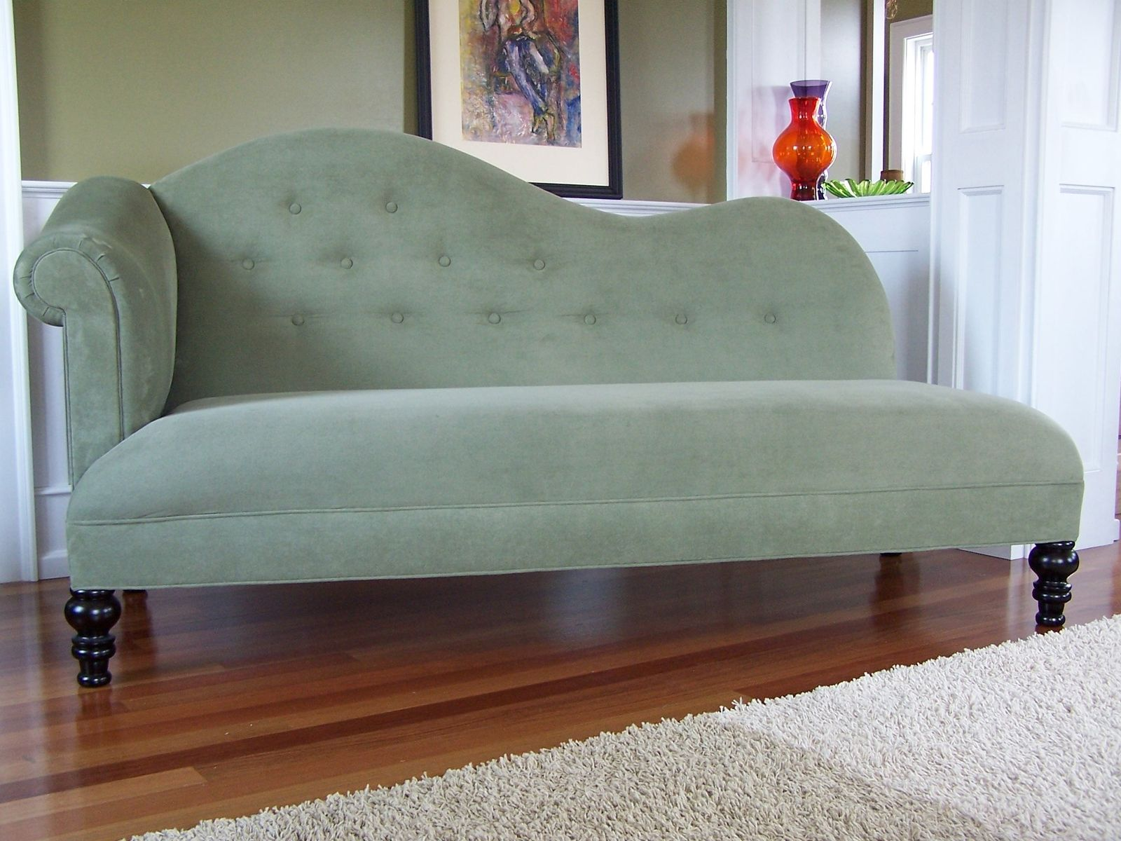 Custom Made Upholstered Couch Davenport