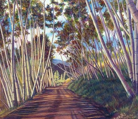 Custom Made Last Dollar Aspen, Telluride (Colorado Landscape) Painting - Fine Art Print On Paper (16