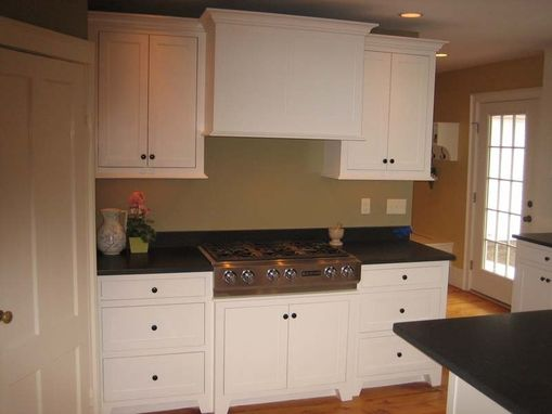 Custom Made Kitchen Cabinets - White