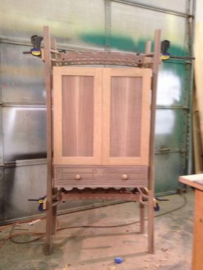Custom Made Weingart Wine Cabinet