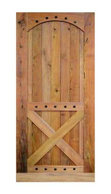 Custom Made Rustic Barn Door With Clavos By Rustic Furniture Hut