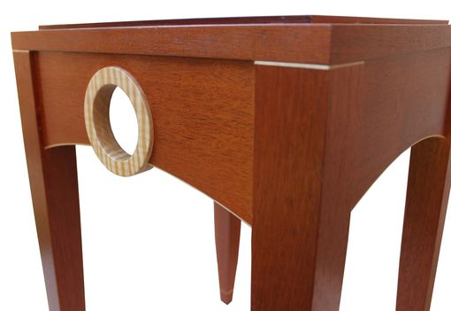 Custom Made Transitional Occasional Or Side Table