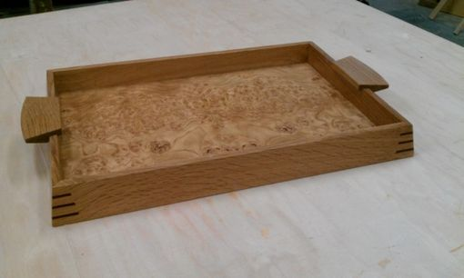 Custom Made White Oak Tray