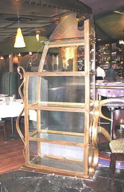 Custom Made Forte Restaurant Wine Rack