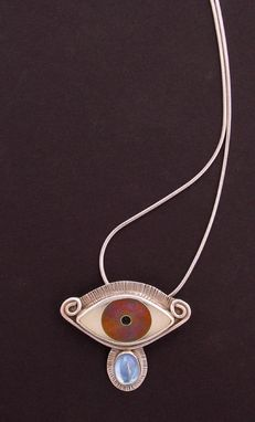 Custom Made Evil Eye Pendant - Purple/Lavender