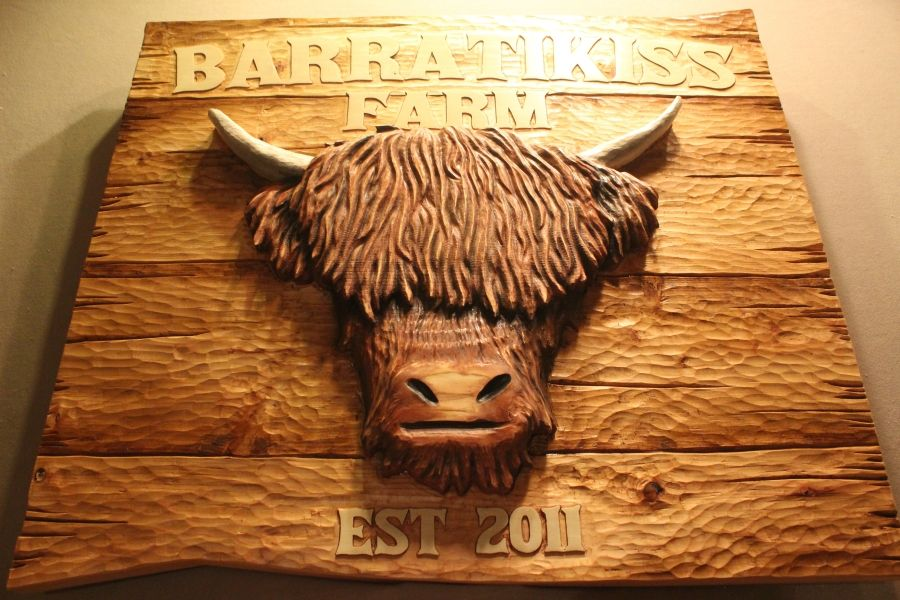 Hand Crafted Custom Wood Signs Carved Wood Signs Farm Signs