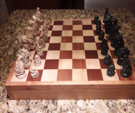 Custom Made Family Chessboard