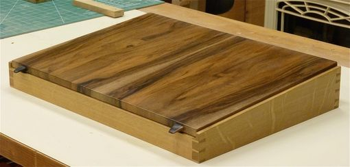 Custom Made Walnut And Quartersawn Oak Lap Desk