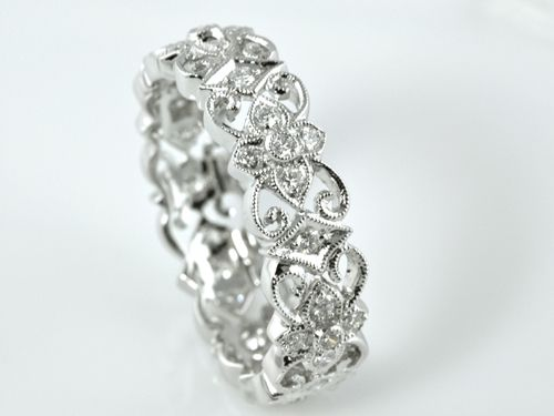 Custom Made Filligree Band