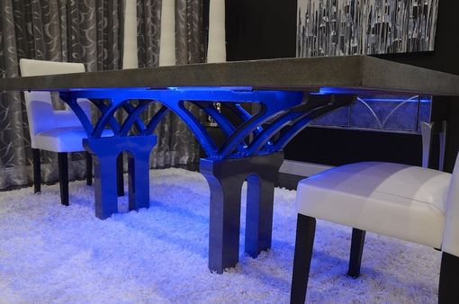 Custom Made Cleveland Innerbelt Bridge Table