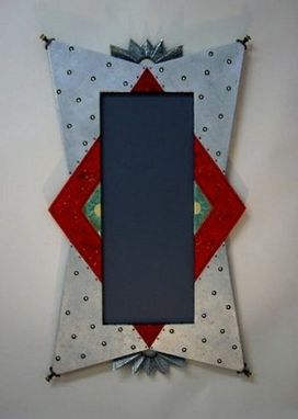 Custom Made Custom Metal Covered Mirror Frame