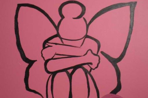 Custom Made Fairy Mural