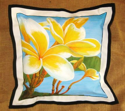 Custom Made Hand Painted Throw Pillows