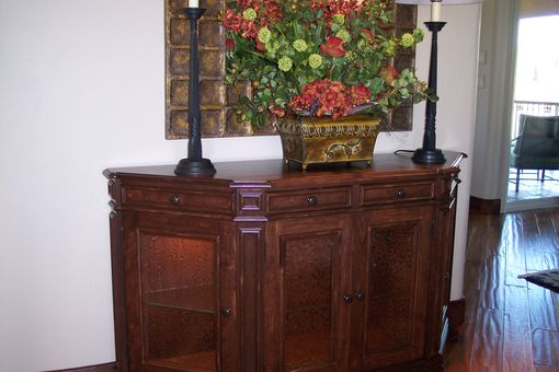 Custom Made Entry Curio Cabinet