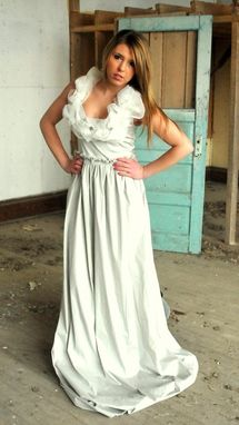 Hand Crafted Peace Silk Wedding Dress, Romantic Dress, Cruelty Free ...