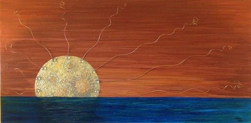 Custom Made Art - Outback Sunset