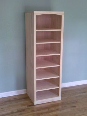 Custom Made Shaker Pine Book Shelf