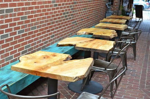 Custom Made Slab Bistro Tables