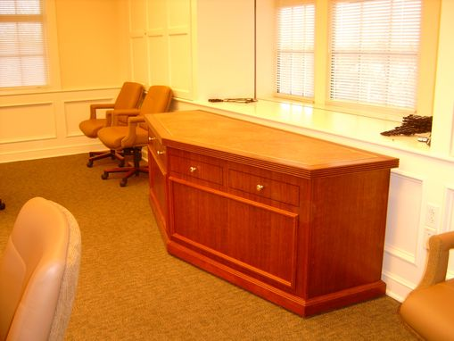 Custom Made Boardroom Conference Table Built For A Major University
