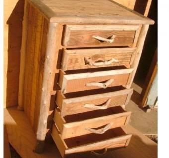 Driftwood Reclaimed Wood Rustic Hobbit Furniture Bureau Dresser