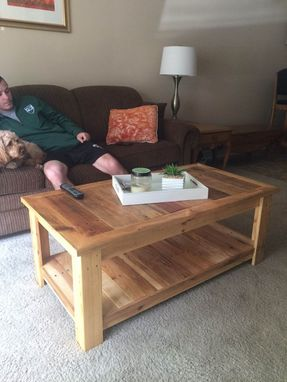 Custom Made Pallet Coffee Table