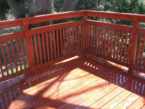 Custom Made Pine Deck