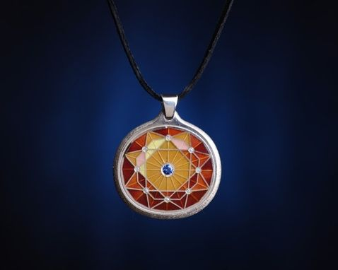 Custom Made Luminus Silver Cloisonne  Pendants Collection