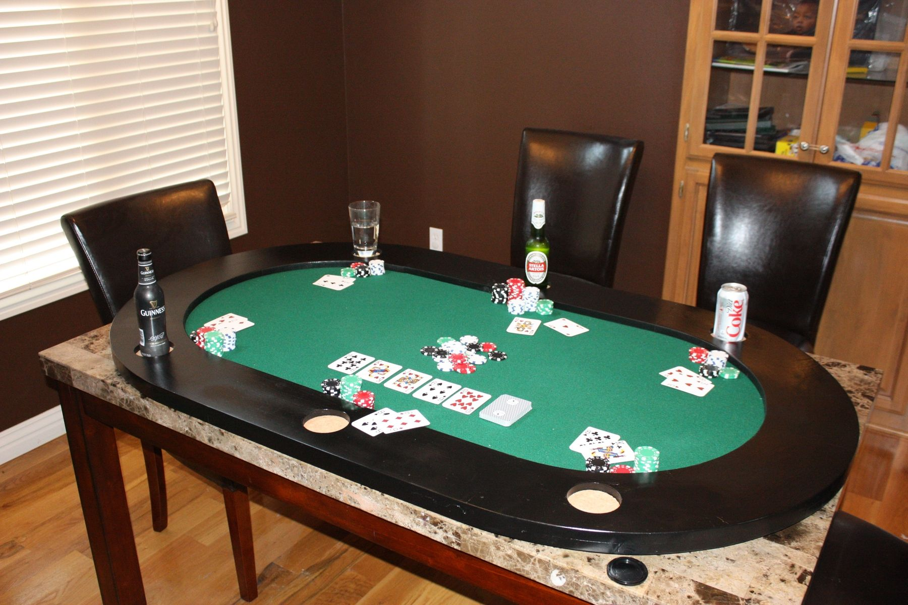 Hand Made Poker Table Top By Scenic View Creations