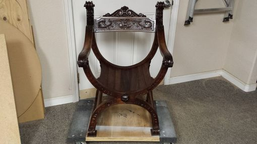 Custom Made Restoration Antique Dagobert Chair