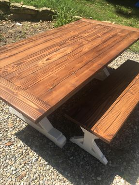 Custom Made Farmhouse Rustic Restoration Hardware Style Tables