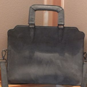 Custom Designed Briefcase Made With Horween Leather By