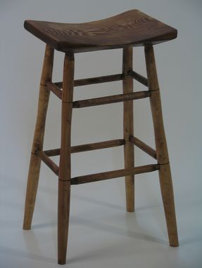 Custom Made Curved Top Stool