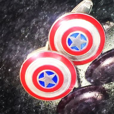 Custom Made Custom Designed Ring For That Super Hero Lover In Your Life!