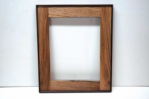 Custom Made Butternut & Walnut Wall Frame