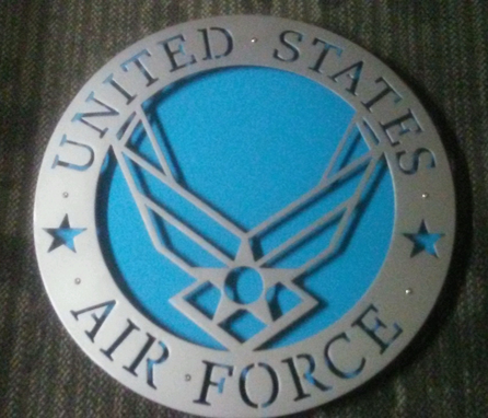 Custom Made Customizable Air Force Sign