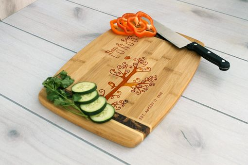 Custom Made Personalized Cutting Board, Engraved Cutting Board, Custom Wedding Gift – Cb-Bamm-Bensarahlondon