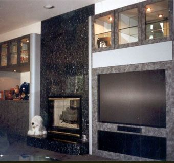 Custom Made Italian Laminate Entertainment Unit