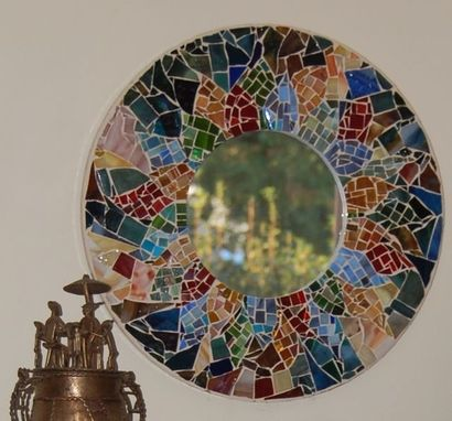 Custom Made Mosaic Mirror