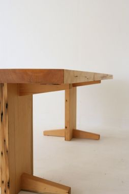 Custom Made Old Growth Slab Table