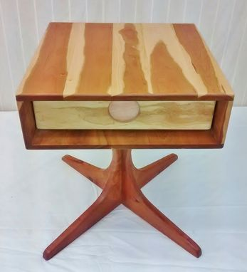 "Custom Made Retro Modern ""Metropole"" End Tables"