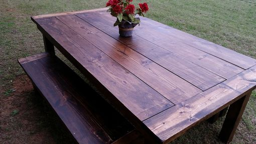 Custom Made Colonial Farmhouse Dining Room Table
