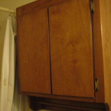 Custom Made Basic Bathroom Cabinet