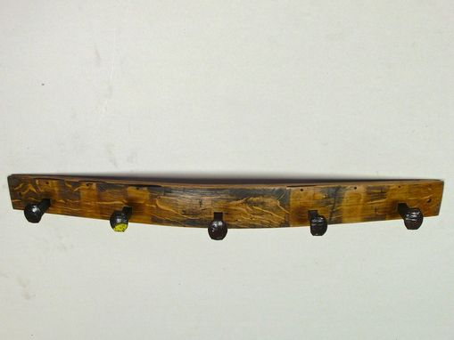 Custom Made Jackie Rr - Barrel Stave Coat Rack
