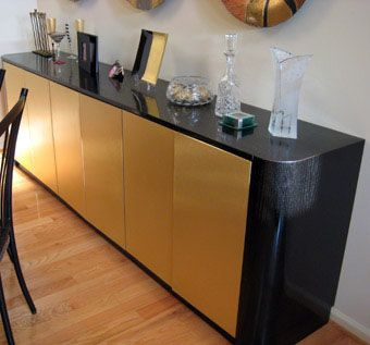 Custom Made Contemporary Style Buffet