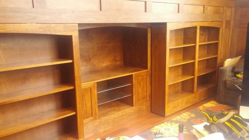 Custom Made Floating Bookcases